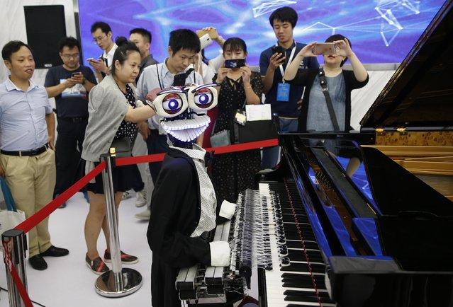 Conferencia Mundial de Robots 2017 de Beijing