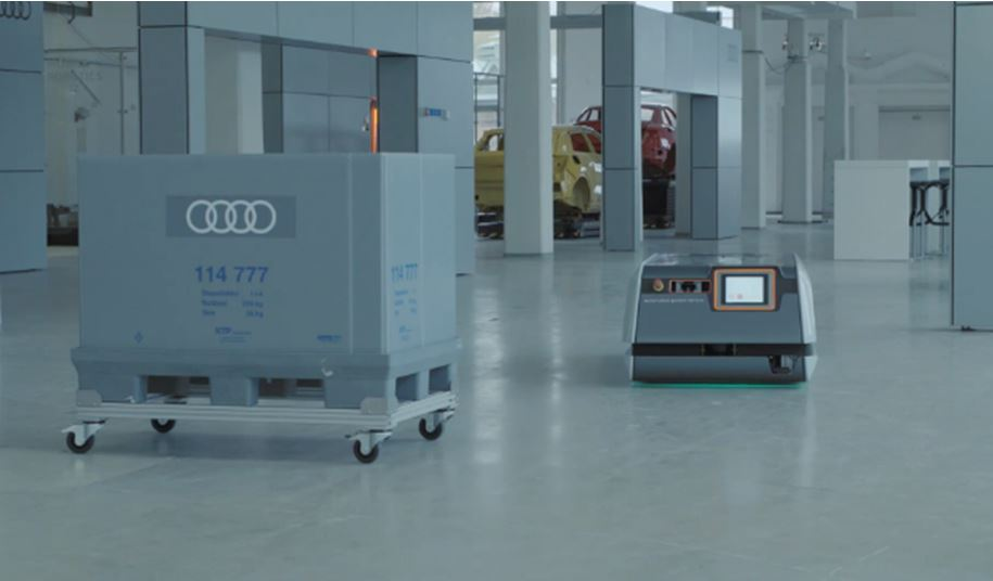 Audi Factory of future automation