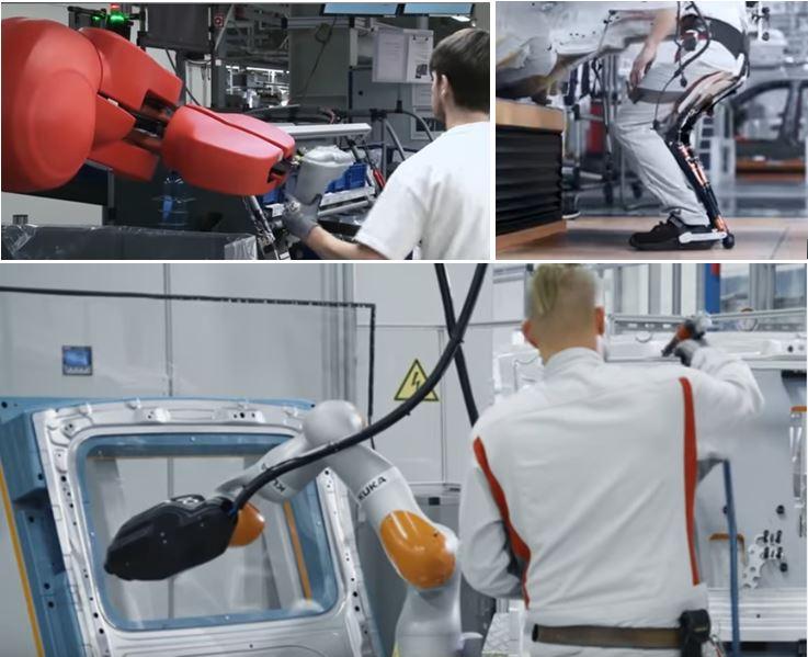 Audi Factory of Future robot 3D