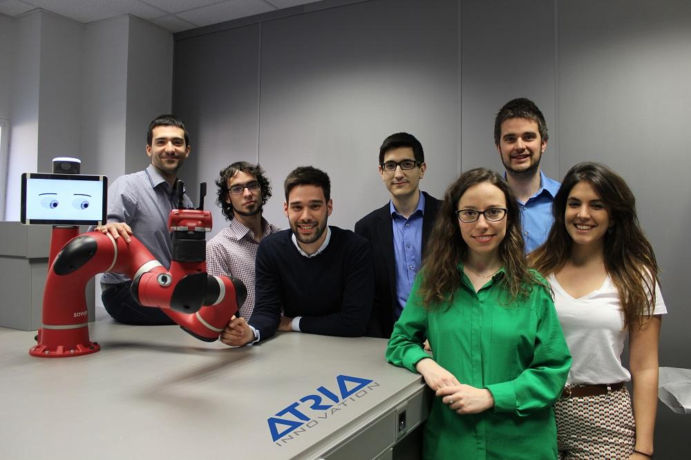 Ganadores equipo ATRIA INNOVATION