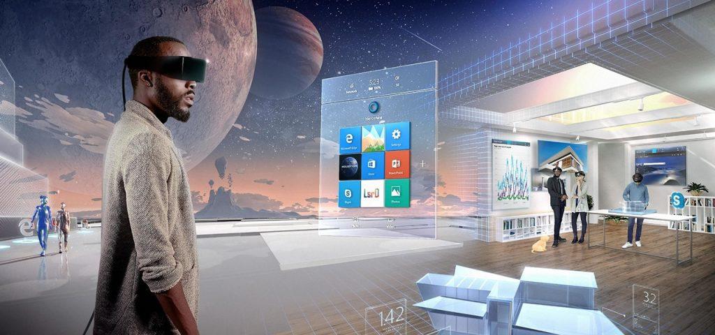 Realidad Aumentada Microsoft HoloLenses